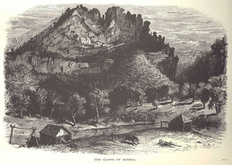 The Cliffs of Seneca, 1872